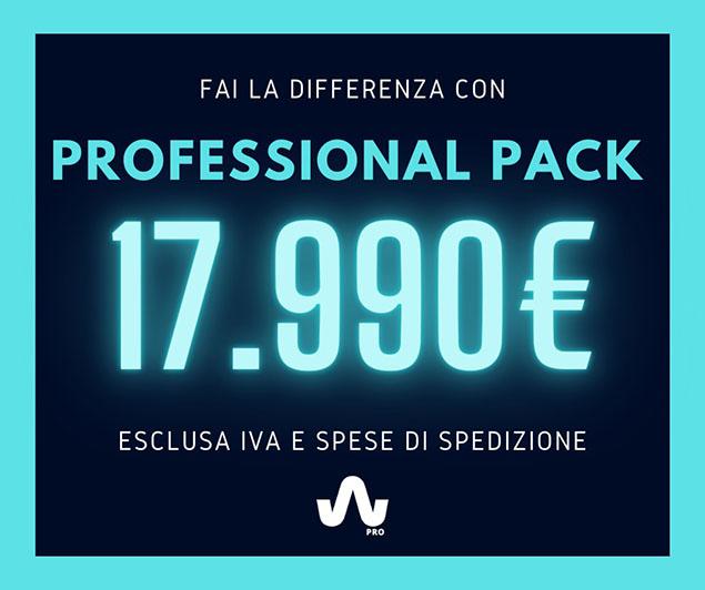 Professional Pack - Se sei già un professionista dell'EMS il Professional Pack WIEMS Pro è per te.